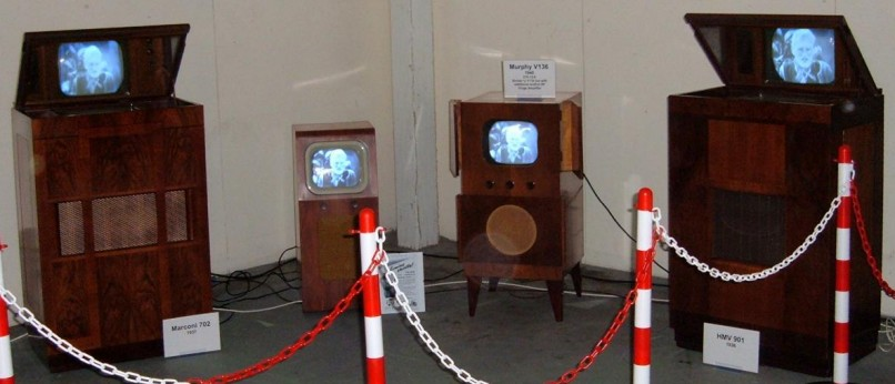 Vintage Television Display at the May 2006 NVCF - British Vintage