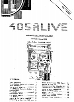 405 Alive Issue 8 (October 1990)