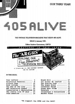 405 Alive Issue 9 (January 1991)