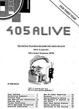 405 Alive Issue Issue 10 (April 1991)