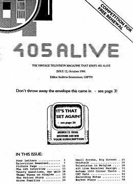 405 Alive Issue 12 (October 1991)