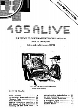 405 Alive Issue 13 (January 1992)