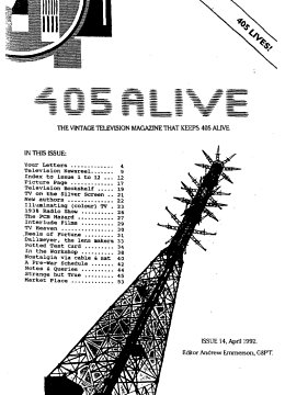 405 Alive Issue Issue 14 (April 1992)