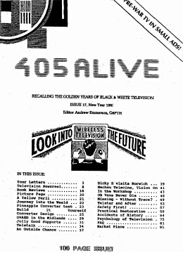 405 Alive Issue Issue 17 (New Year 1993)