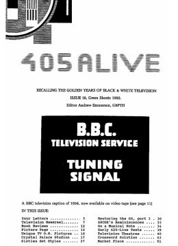 405 Alive Issue 18 (Green Shoots 1993)