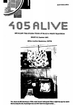 405 Alive Issue 19 (Summer 1993)