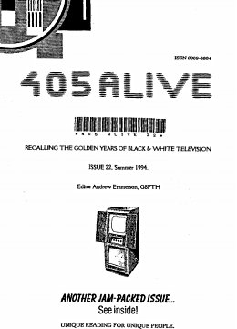 405 Alive Issue Issue 22 (Summer 1994)