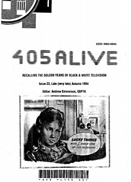 405 Alive Issue Issue 23 (Late Autumn 1994)