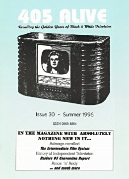 405 Alive Issue Issue 30 (Summer 1996)