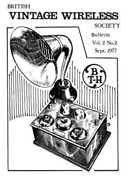BVWS BulletinVolume 2, Number 2 (September 1977)