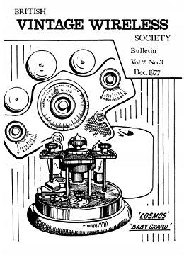 BVWS BulletinVolume 2, Number 3 (December 1977)
