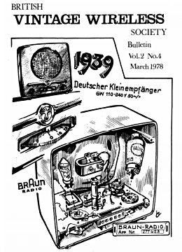 BVWS BulletinVolume 2, Number 4 (March 1978)