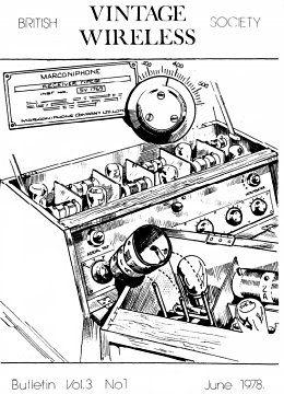 BVWS BulletinVolume 3, Number 1 (June 1978)