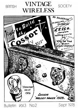 BVWS BulletinVolume 3, Number 2 (September 1978)