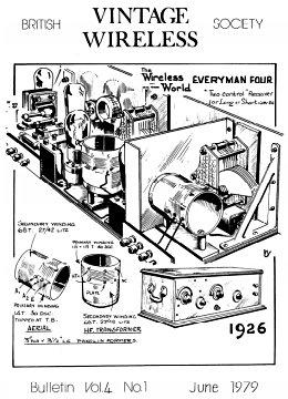BVWS BulletinVolume 4, Number 1 (June 1979)