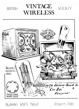 BVWS BulletinVolume 5, Number 4 (March 1981)