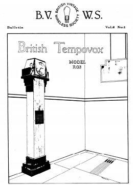 BVWS BulletinVolume 6, Number 1 (June 1981)