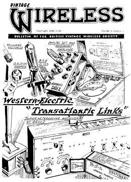 BVWS BulletinVolume 9, Number 1 (June 1984)