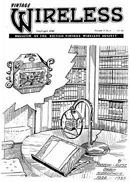 BVWS BulletinVolume 9, Number 3 (December 1984)