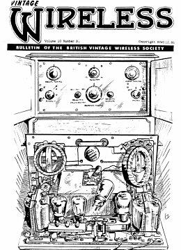BVWS BulletinVolume 10, Number 3 (December 1985)