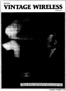 BVWS BulletinVolume 11, Number 2 (October 1986)