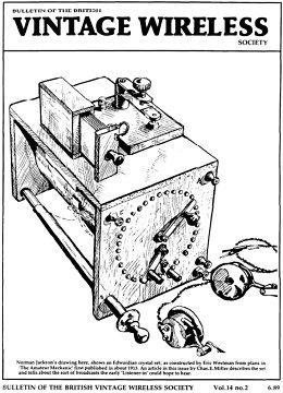 BVWS BulletinVolume 14, Number 2 (June 1989)