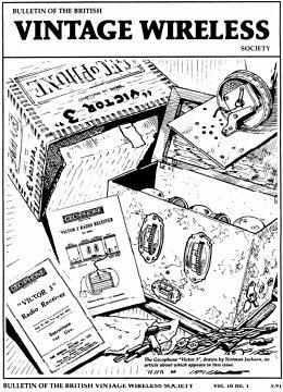 BVWS BulletinVolume 16, Number 1 (March 1991)