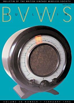 BVWS BulletinVolume 20, Number 1 (February 1995)