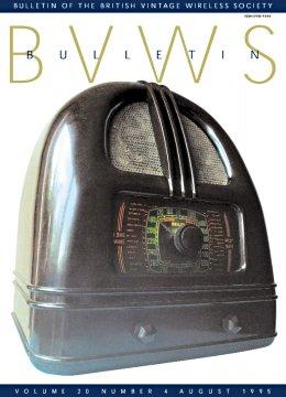 BVWS BulletinVolume 20, Number 4 (August 1995)