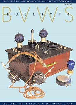 BVWS BulletinVolume 20, Number 5 (October 1995)