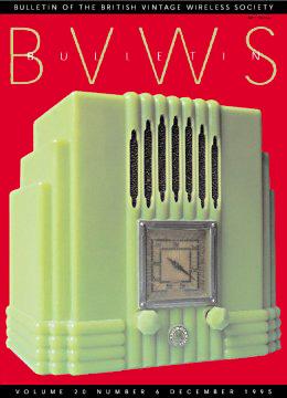 BVWS BulletinVolume 20, Number 6 (December 1995)