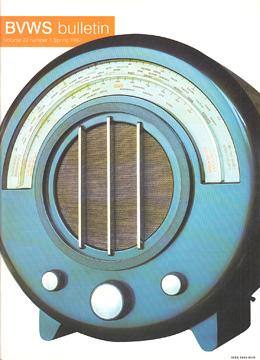 BVWS BulletinVolume 22, Number 1 (Spring 1997)