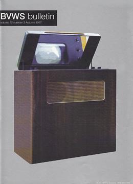 BVWS BulletinVolume 22, Number 3 (Autumn 1997)