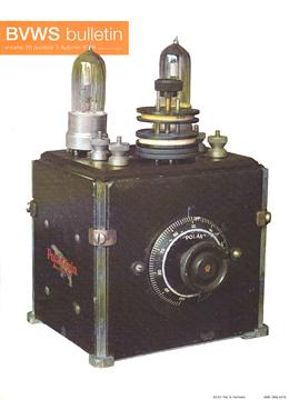 BVWS BulletinVolume 23, Number 3 (Autumn 1998)