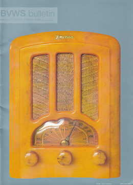 BVWS BulletinVolume 23, Number 4 (Winter 1998)