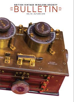 BVWS Bulletin Volume 43, Number 3 (Autumn 2018) - British Vintage